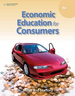 Economic Education for Consumers by Alan Stafford, Alan Stafford (9780538448888) - HardCover - Business & Finance