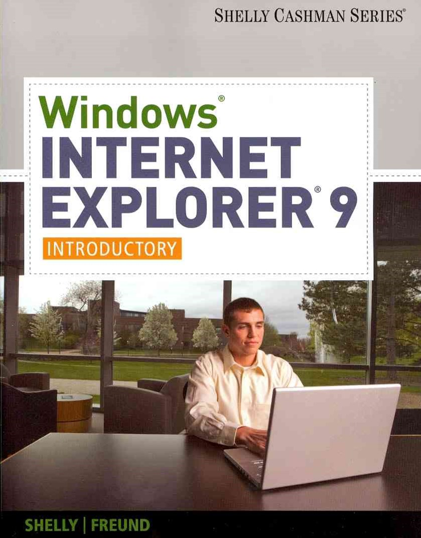 Windows Internet Explorer 9 : Introductory