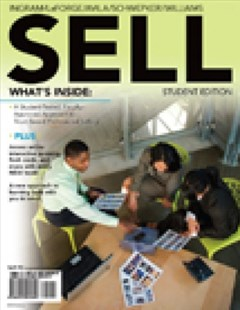 Sell by Thomas N. Ingram, Raymond W. LaForge, Ramon A. Avila, Charles H. Schwepker, Michael R. Williams (9780538748759) - PaperBack - Business & Finance Sales & Marketing