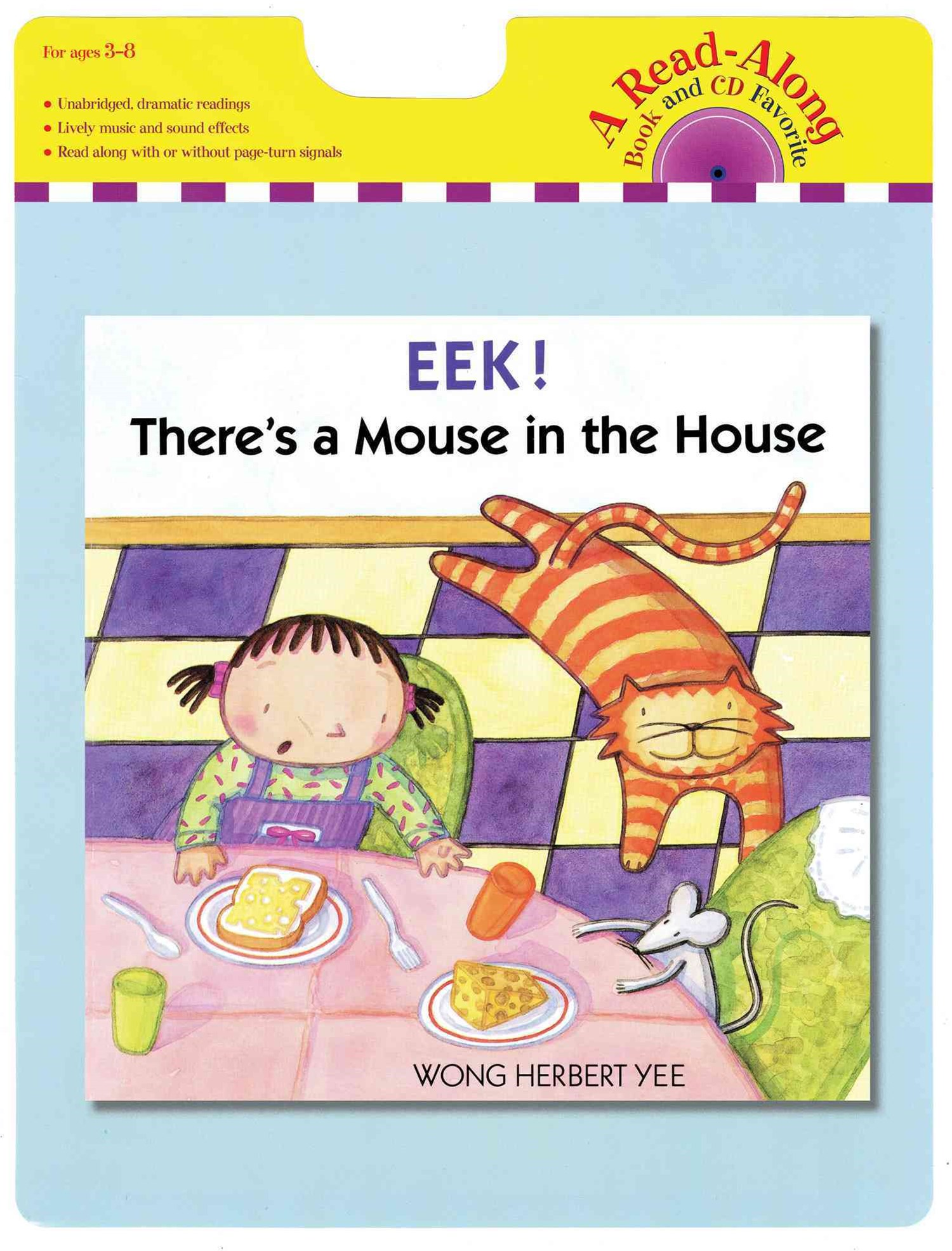 Eek! There's a Mouse in the House: Read-along Book