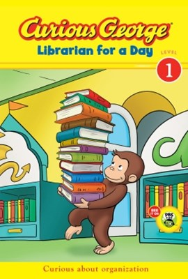 (ebook) Curious George Librarian for a Day (CGTV Early Reader)