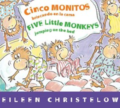 Five Little Monkeys Jumping on the Bed (Spanish/English)