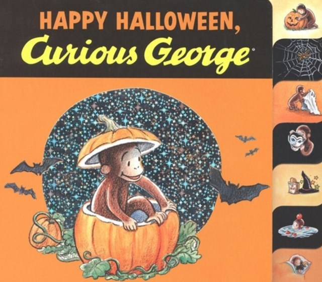 (ebook) Happy Halloween, Curious George (Read-aloud)