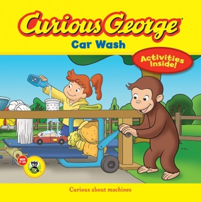 (ebook) Curious George Car Wash (CGTV)