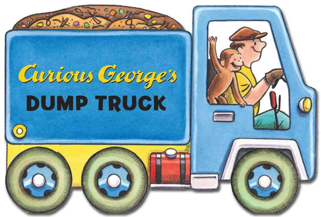 Curious George's Dump Truck: (Mini Movers Shaped Board Books)