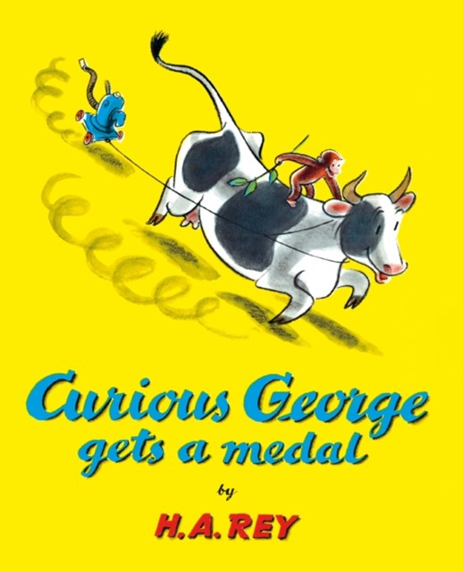 (ebook) Curious George Gets a Medal (Read-aloud)