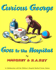 (ebook) Curious George Goes to the Hospital (Read-aloud)