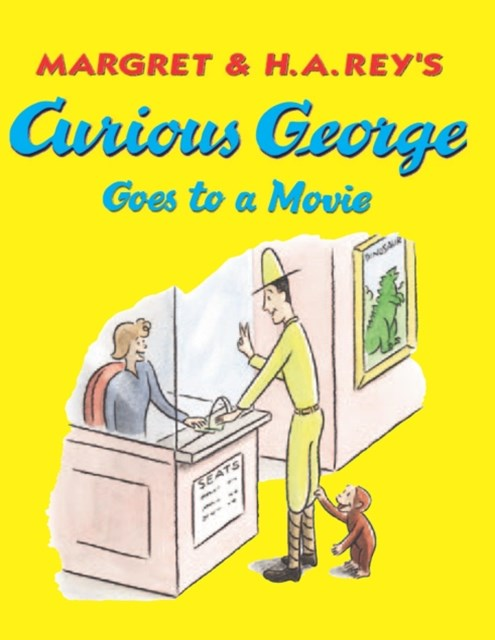 (ebook) Curious George Goes to a Movie (Read-aloud)