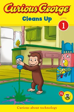 (ebook) Curious George Cleans Up (CGTV Read-aloud)