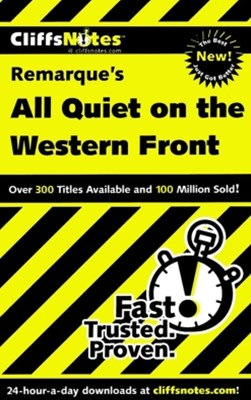 (ebook) CliffsNotes on Remarque's All Quiet on the Western Front