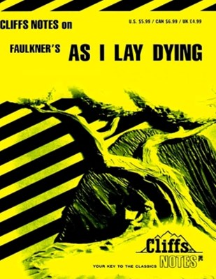 (ebook) CliffsNotes on Faulkner's As I Lay Dying