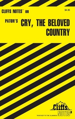 (ebook) CliffsNotes on Paton's Cry, the Beloved Country