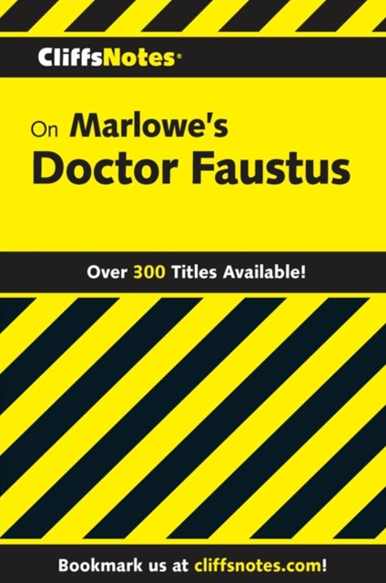 (ebook) CliffsNotes on Marlowe's Doctor Faustus