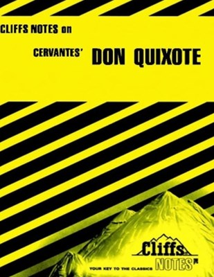 (ebook) CliffsNotes on Cervantes' Don Quixote