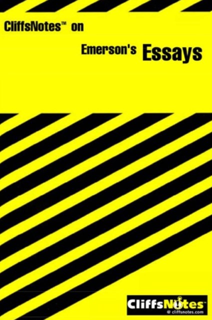(ebook) CliffsNotes on Emerson's Essays