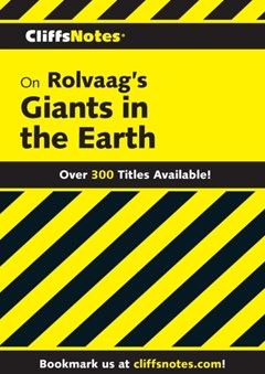 (ebook) CliffsNotes on Rolvaag