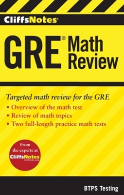 (ebook) CliffsNotes GRE Math Review