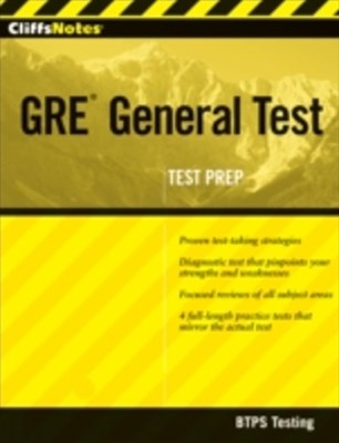 CliffsNotes GRE General Test with CD-ROM