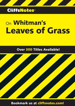 (ebook) CliffsNotes on Whitman