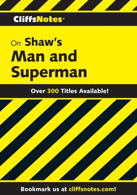 (ebook) CliffsNotes on Shaw's Man & Superman