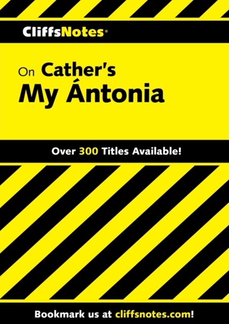 (ebook) CliffsNotes on Cather's My Antonia