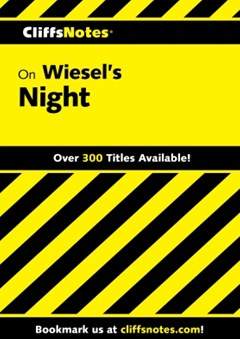 (ebook) CliffsNotes on Wiesel