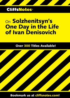 (ebook) CliffsNotes on Solzhenitsyn