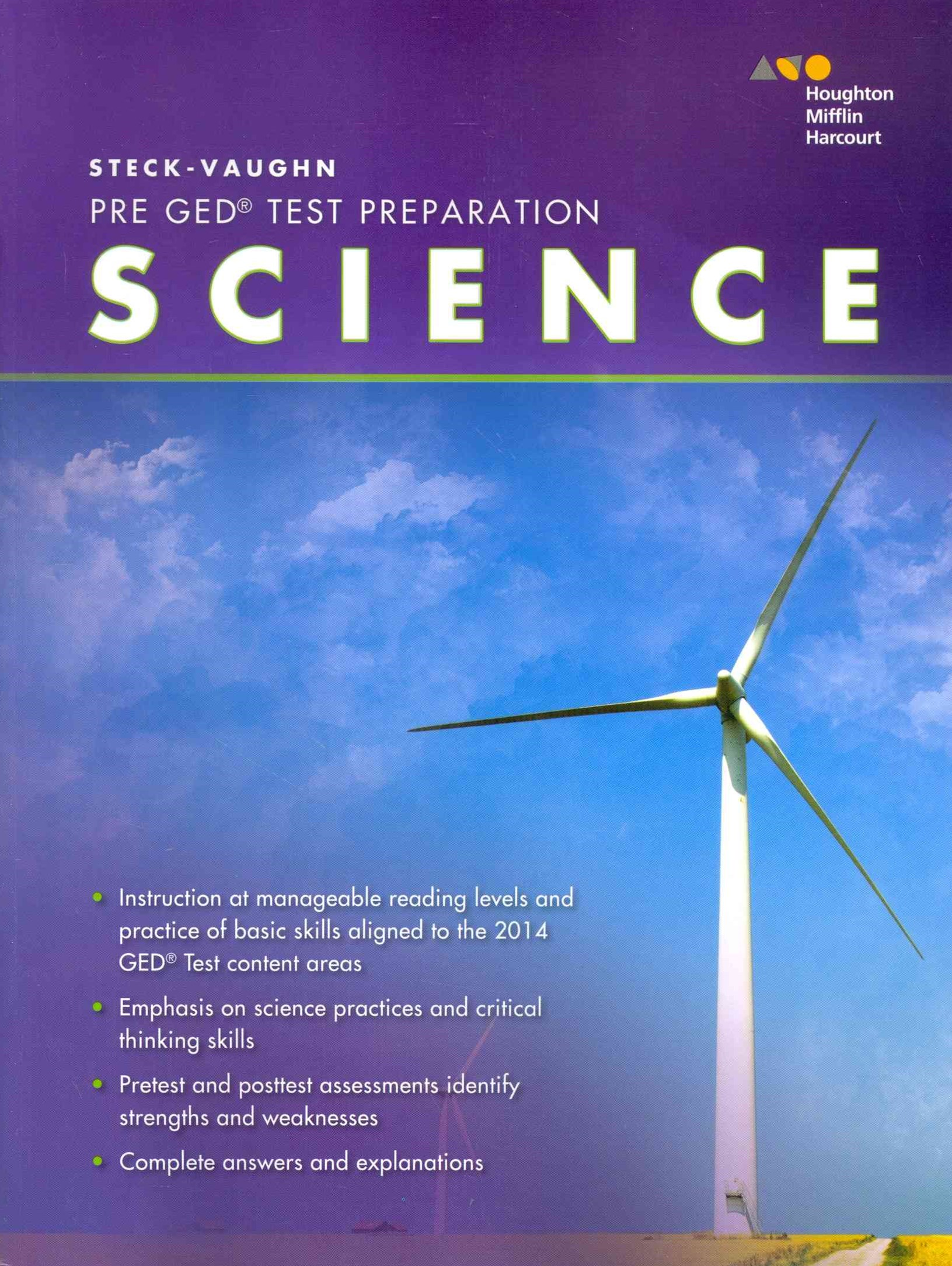 Steck-Vaughn Pre-GED Test Preparation