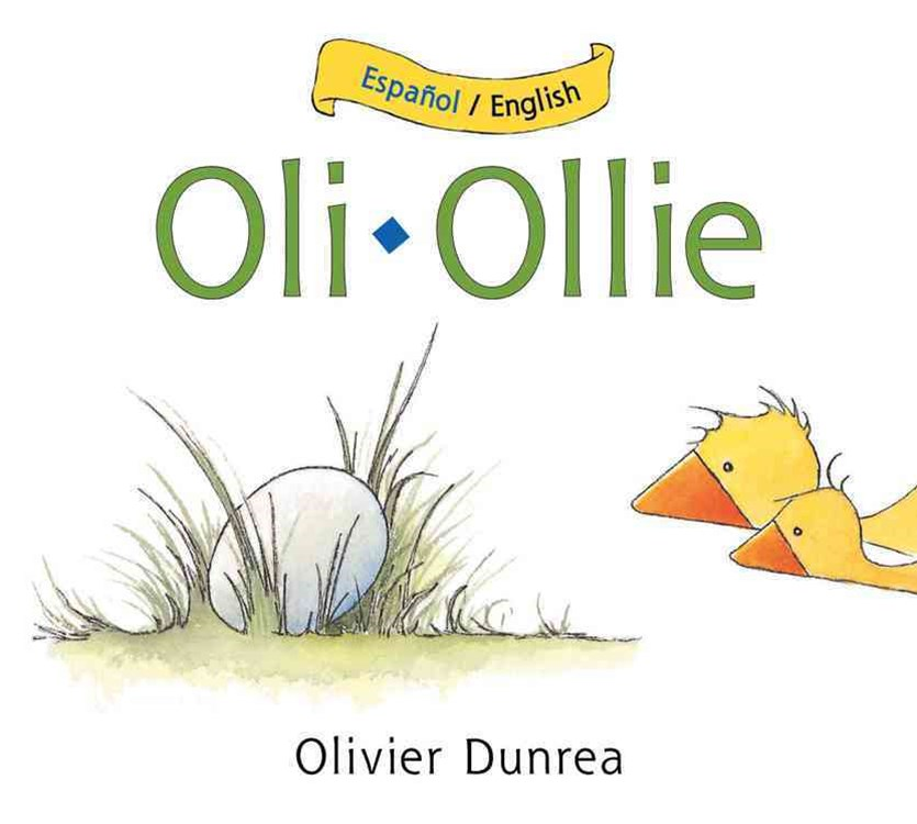 Oli/Ollie Bilingual Board Book