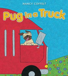 Pug in a Truck