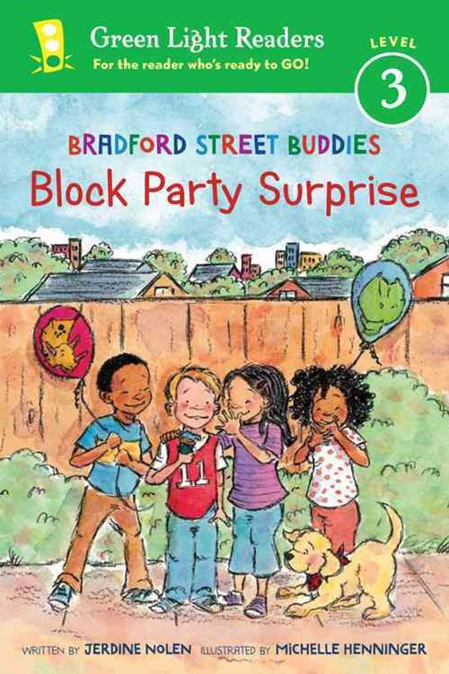 Bradford Street Buddies: Block Party Surprise: Green Light Readers, Level 3
