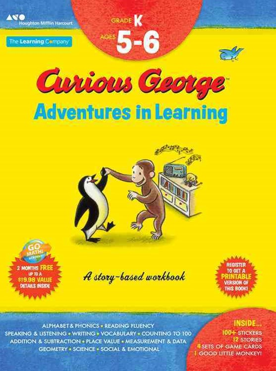 Curious George Adventures in Learning, Kindergarten