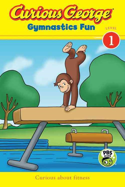 Curious George Gymnastics Fun  (L 1 Reader)