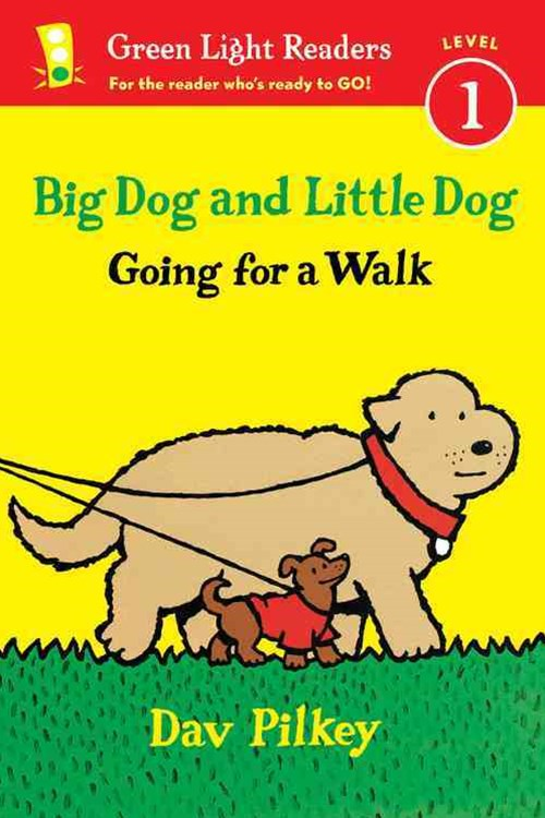 Big Dog and Little Dog: Going for a Walk (GLR Level 1)
