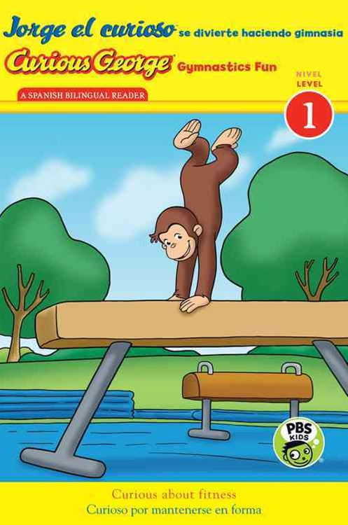 Curious George Jorge el Curioso Gymnastics Fun  Sp/English (L 1 Reader)