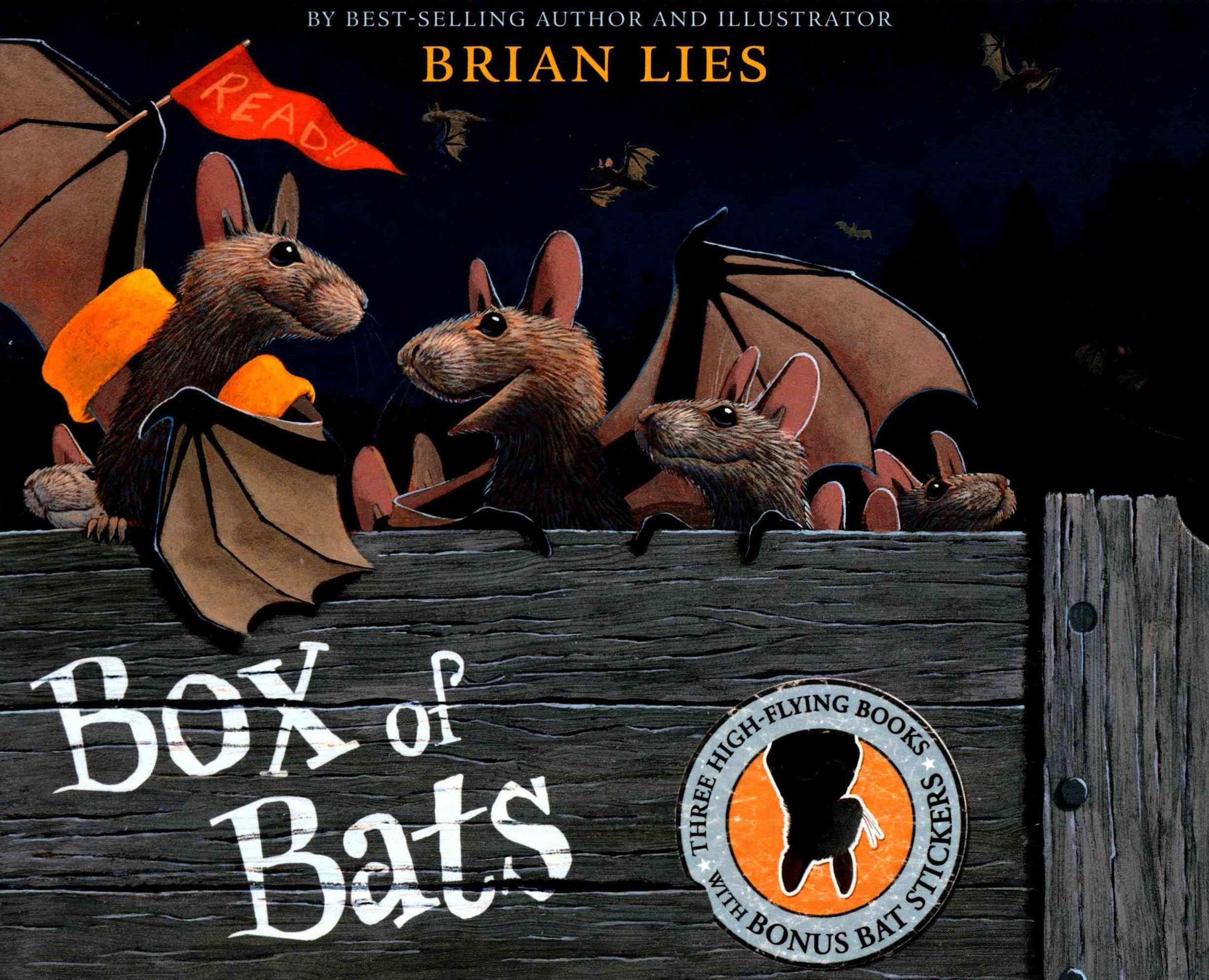 Box of Bats Gift Set (3 titles)