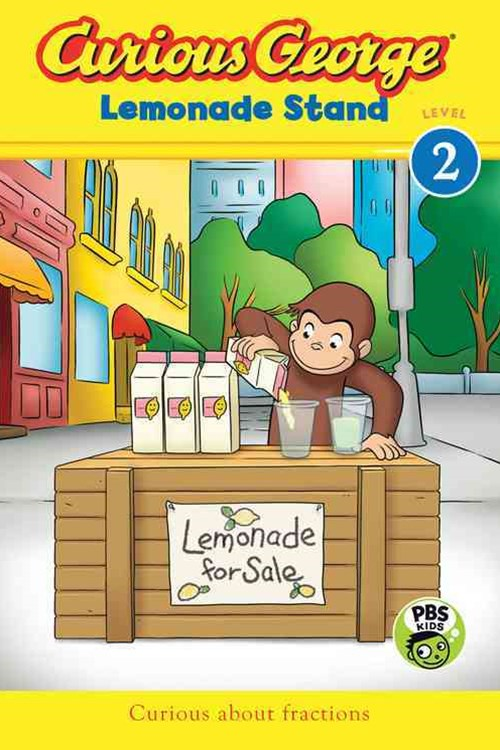 Curious George Lemonade Stand  CGTV Reader, Level 2