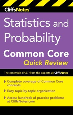 (ebook) CliffsNotes Statistics and Probability Common Core Quick Review