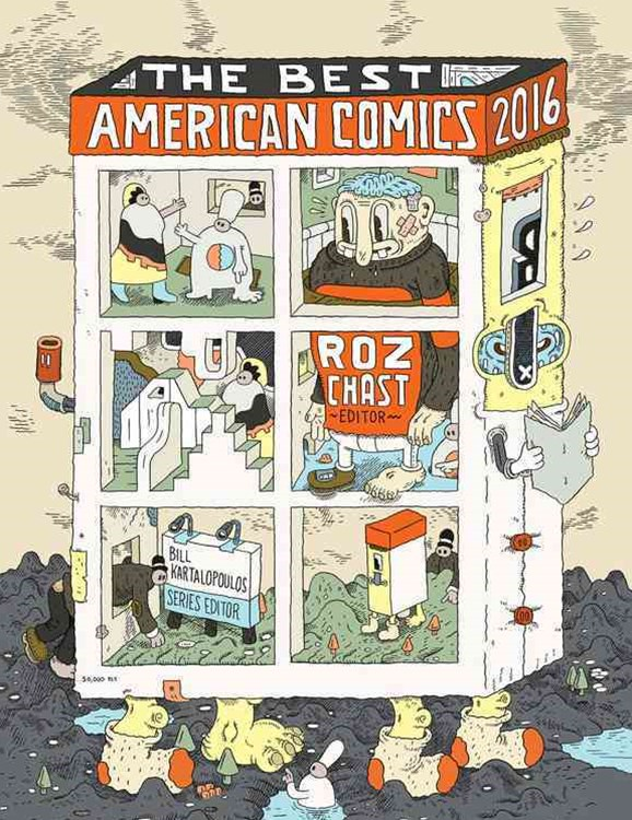 The Best American Comics 2016