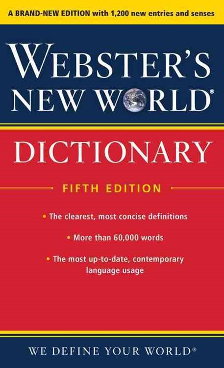 Webster's New World Dictionary, Fifth Edition