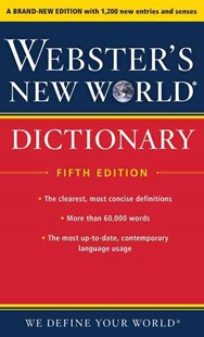 Webster's New World Dictionary, Fifth Edition by Editors of Webster's New World College Dictionaries (9780544785670) - PaperBack - Reference Dictionaries