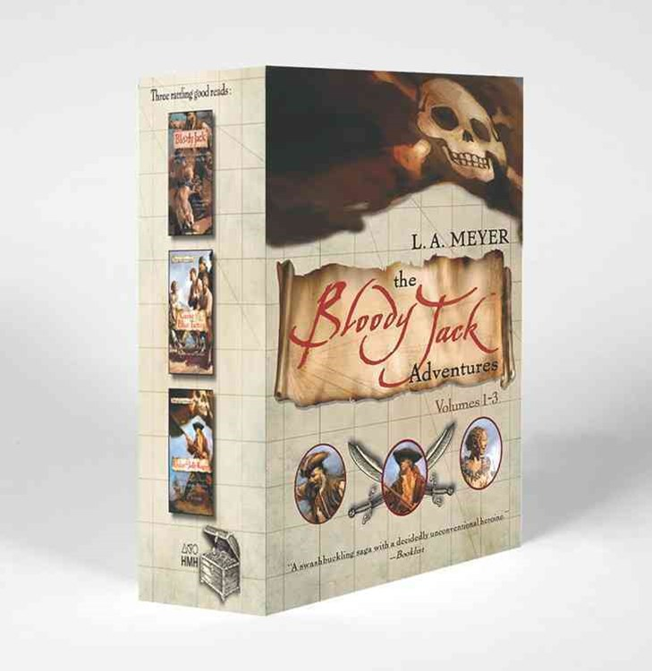 Bloody Jack Adventures Boxed Set: 1-3