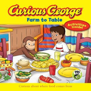 (ebook) Curious George Farm to Table (CGTV) - Children's Fiction