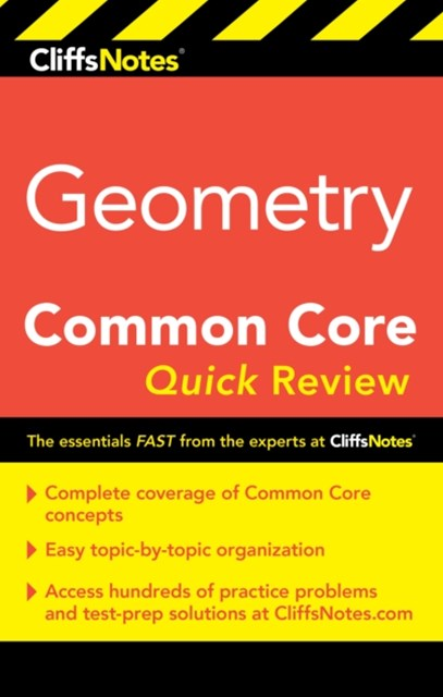 (ebook) CliffsNotes Geometry Common Core Quick Review