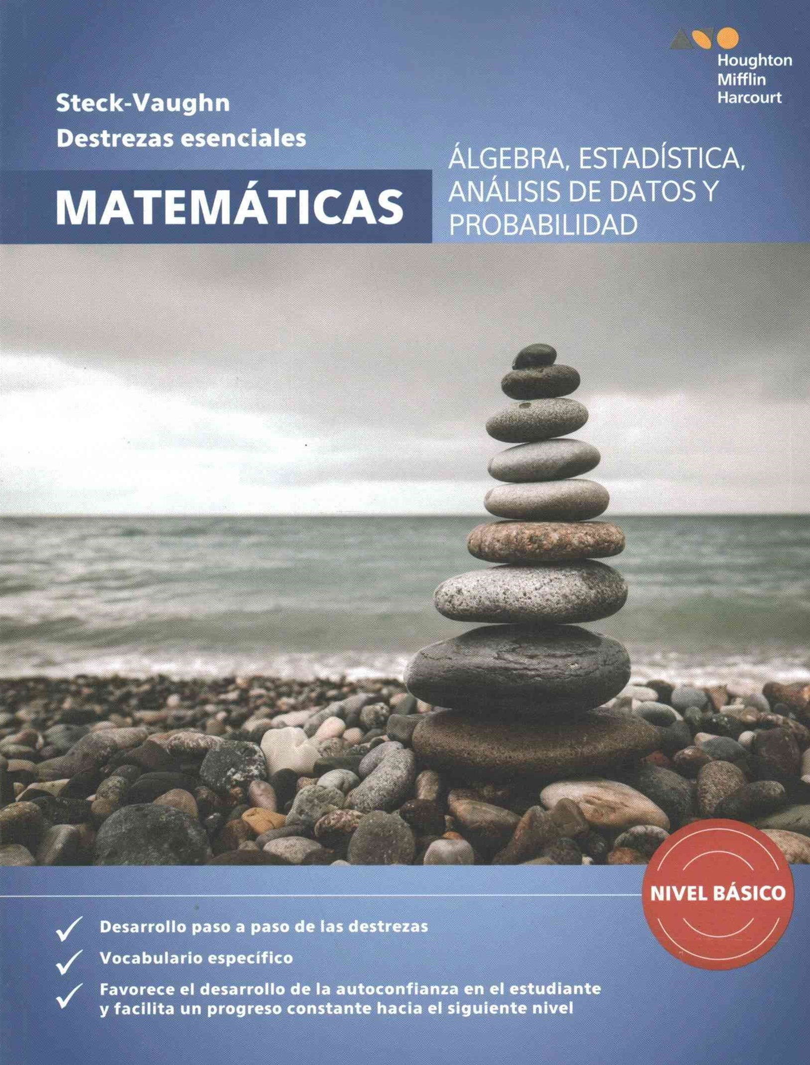 Algebra, estadistica, analisis de datos y probabilidad, nivel basico / Algebra, Statistics, Data Analysis, and Probability Beginning