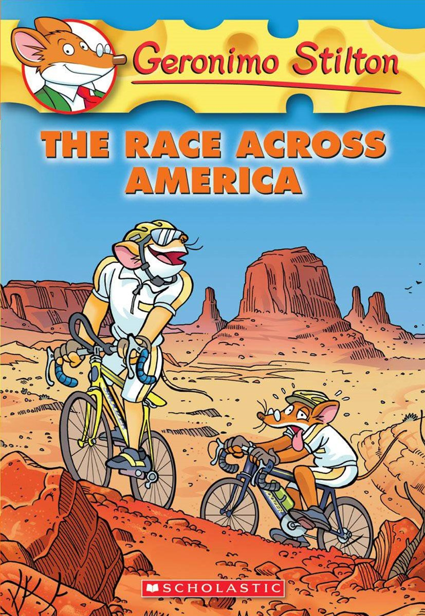 Geronimo Stilton #37: Race Across America