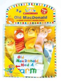Little Scholastic: Old MacDonald Hand-Puppet Board Book