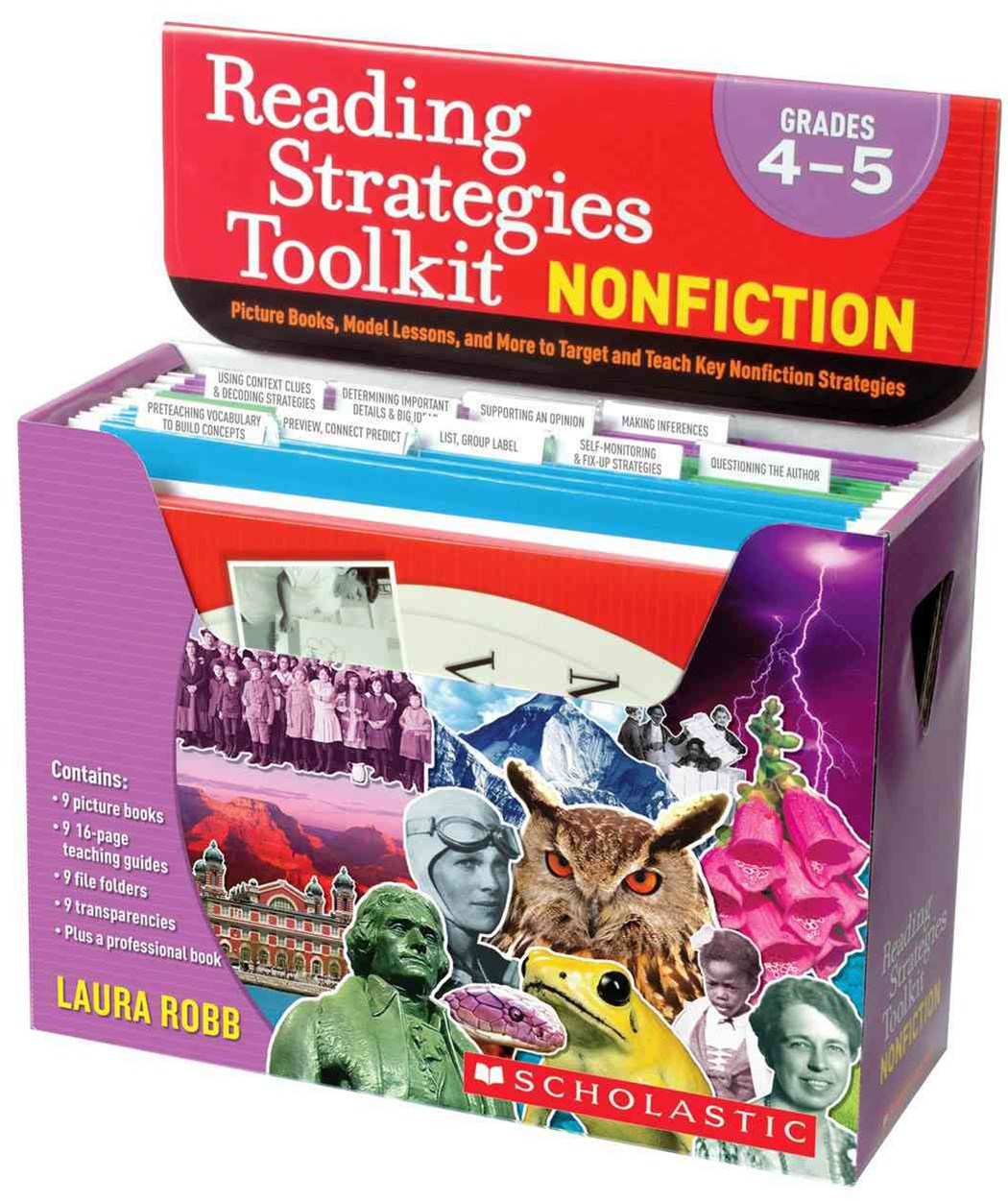 Reading Strategies Toolkit - Nonfiction, Grades 4-5