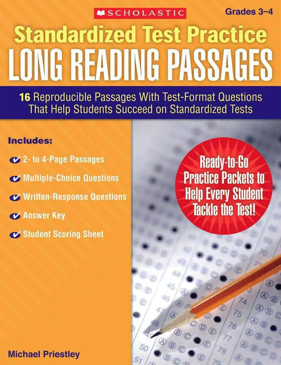 16 Reproducible Passages with Test-Format Questions That Help Students Succeed on Standardized Test