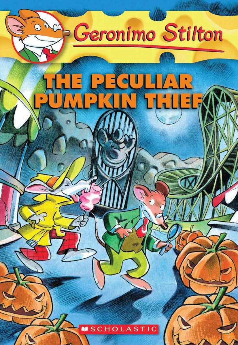 Geronimo Stilton: #42 Peculiar Pumpkin Thief